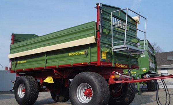 Landwirtschafts-Fahrzeuge von Fortuna werden mit REHM Impuls-Schweißgeräten geschweißt