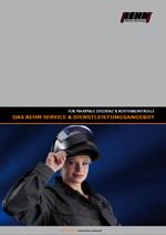 Download für REHM Dienstleistungs-Programm Prospekt