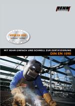 Download DIN EN 1090 Prospekt für neue Schweißrichtlinien
