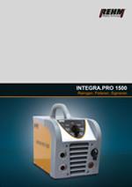 Schweißnahtreinigungsgerät INTEGRA.PRO 1500 für Edelstahloberflächen