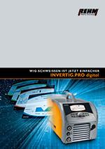 Mobile WIG-Schweißgeräte mit Vollfarbdisplay und 240 A bis 450 A