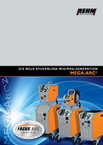Stufenlos schaltbare MIG-MAG-Schweißgeräte mit 250 A bis 450 A