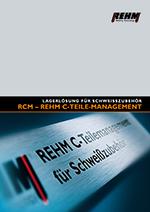 REHM C-Teile Management für Schweißzubehör