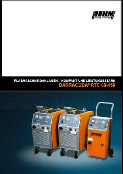 Plasma-Schneidanlagen mit 60 A bis 150 A für alle metallischen Oberflächen