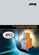 Stufengeschaltete MIG-MAG-Schweißgeräte mit 500 A bis 600 A