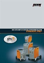 Stufengeschaltete MIG-MAG-Schweißgeräte mit 170 A bis 450 A