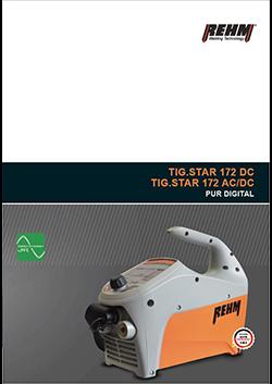 TIG.STAR 172 - das Einstiegsmodell in die REHM WIG-Technologie