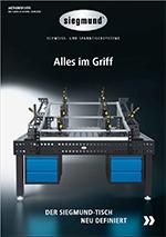 Download Schweisstisch Prospekt von Siegmund vertrieben durch REHM Schweißtechnik