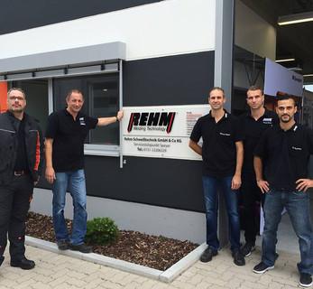 Schweißtechnische Kompetenz vor Ort: Zwei Jahre REHM Kundencenter in Speyer!