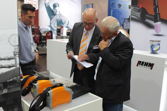 REHM Elektroden Inverter BOOSTER² auf der Messe SCHWEISSEN & SCHNEIDEN