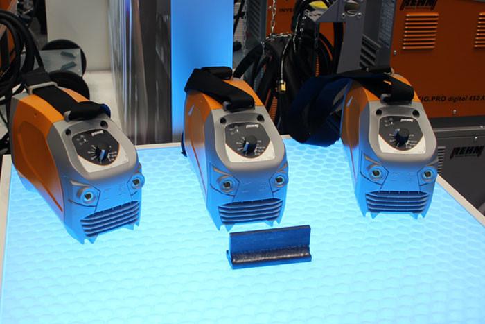 Vorstellung der neuen Elektroden-Inverter BOOSTER² von REHM Schweißtechnik auf der Schweisstec 2017