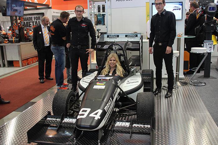 REHM Schweißtechnik als Sponsor für die Formula Student auf der Messe Schweisstec 2017