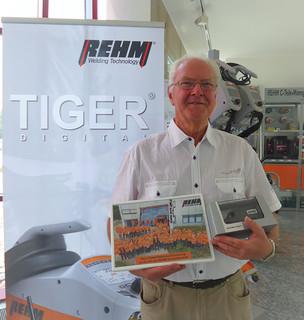 Verabschiedung des REHM-Mitarbeiters Detlef Rehm in den Ruhestand