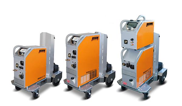 MIG/MAG Impuls-Schweißgerät FOCUS.ARC P mit bis zu 450 Ampere
