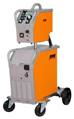 MIG/MAG-Schweißgerät MEGA.ARC² mit 350 Ampere mit Drahtvorschubkoffer