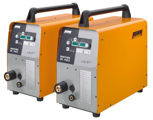 Tragbares MIG/MAG Impulsschweißgerät PANTHER 202 PULS