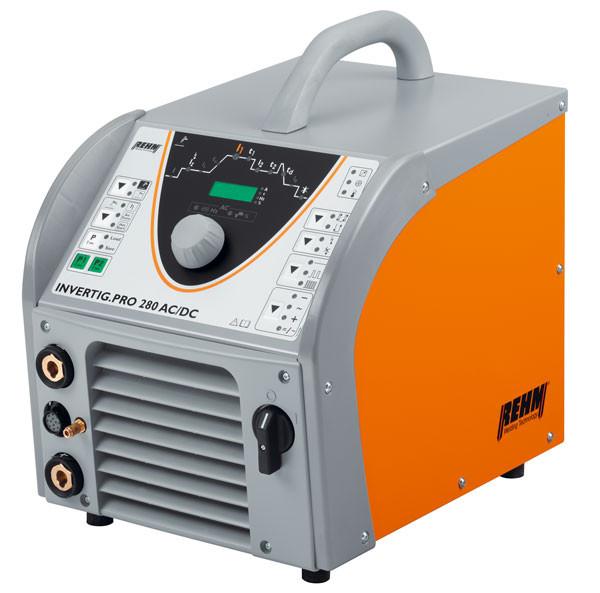WIG-Schweißgerät INVERTIG.PRO mit 240 bis 450 Ampere und DC bzw AC/DC