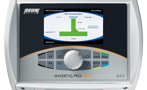 WIG Gerät INVERTIG.PRO digital mit Assist-Funktion