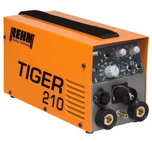 WIG-Schweißgerät TIGER mit 210 Ampere und WIG DC Funktion