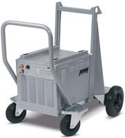 Optionales Wasserkühlgerät TIG-COOL Cart mit Fahrwagen für WIG-Schweißgerät INVETRIG.PRO digital 240 DC