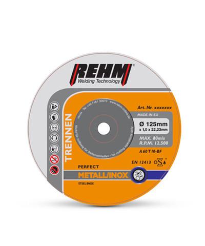Schleifmittel zur Nacharbeit von Werkstücken und Schweißnähten bei REHM Schweißtechnik