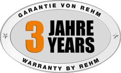 3 Jahre REHM Hersteller Garantie auf MIG/MAG-Schweißgerät SYNERGIC.PRO² 500 bis 600