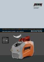 Brochure download of MMA welding machine BOOSTER2