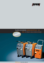 Brochure download of plasma cutting machines with 60 to 150 Ampere