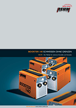 Brochure download of MMA welding machine with 140 Ampere