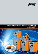 Brochure download for stepless switched MIG-MAG welding machines with 250 to 450 Ampere