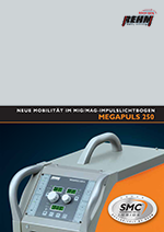 Brochure download of portable MIG-MAG impulse welding machine with 250 Ampere