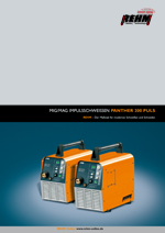Brochure download of portable MIG-MAG impulse welding machine with 200 Ampere