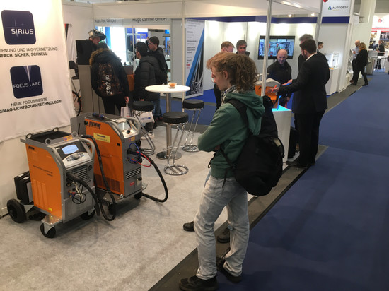 NORTEC 2020 - REHM-Messestand