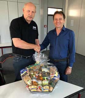 Verabschiedung des REHM-Mitarbeiters Jürgen Blättermann in den Ruhestand