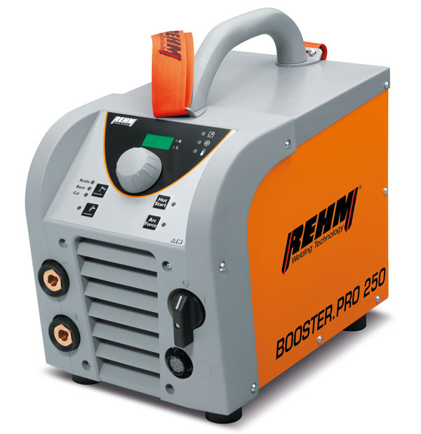 Get more information about BOOSTER.PRO with 250 to 320 Amp welding current