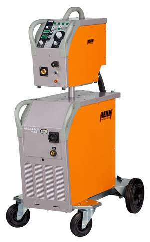 MIG / MAG welding machine MEGA.ARC² with POWER.ARC technology