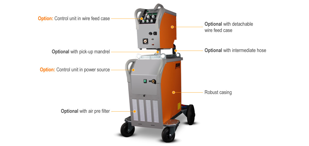 Impuls welding machine MEGA.PULS FOCUS - these are the highlights