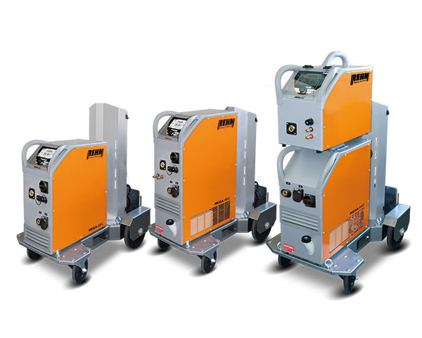 MIG/MAG Impuls-Schweißgerät MEGA.ARC P mit bis zu 450 Ampere