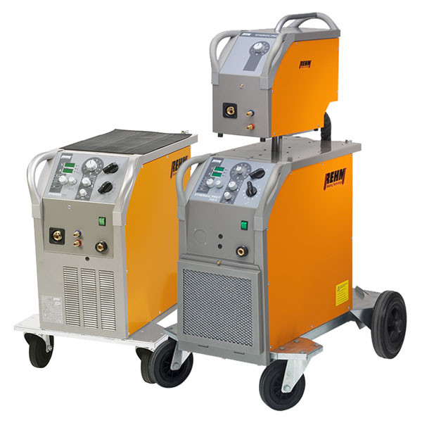 MIG / MAG welding machines SYNERGIC.PRO² 250 to 450 with optional wire feed case