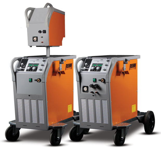 High-tech pulse welding machine SYNERGIC.PULS by REHM Welding Technology