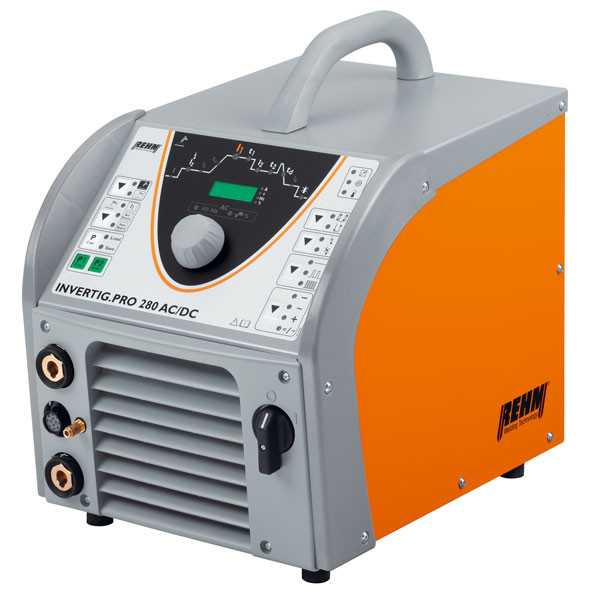 TIG welding machine INVERTIG.PRO with 240 to 450 Amp