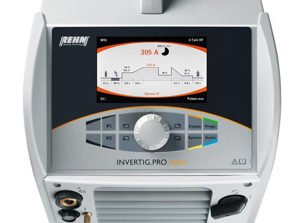 Get more information about INVERTIG.PRO digital TIG welding machine