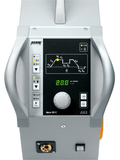 TIG cold wire feeder case APUS 20 C with display