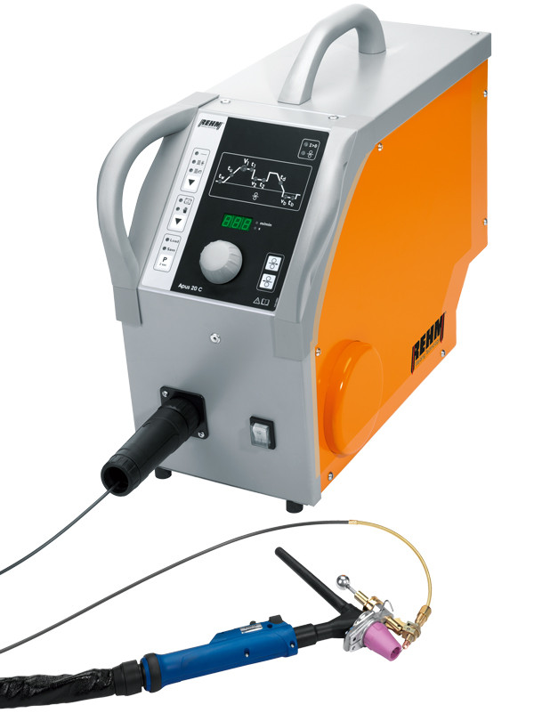 TIG cold wire unit APUS 20 C with special torch