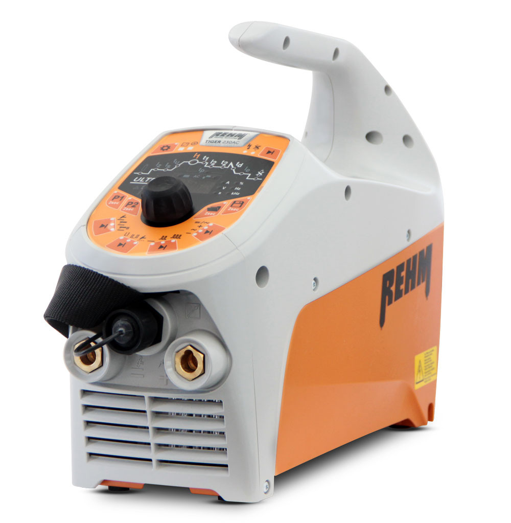 TIG welding machine TIGER ULTRA with REHM DUAL.WAVE technology for AC welding