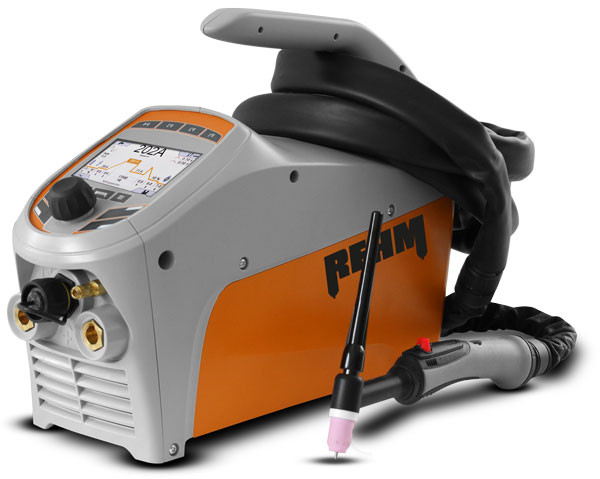 TIG welding machine TIGER digital with REHM DUAL.WAVE technology for AC welding