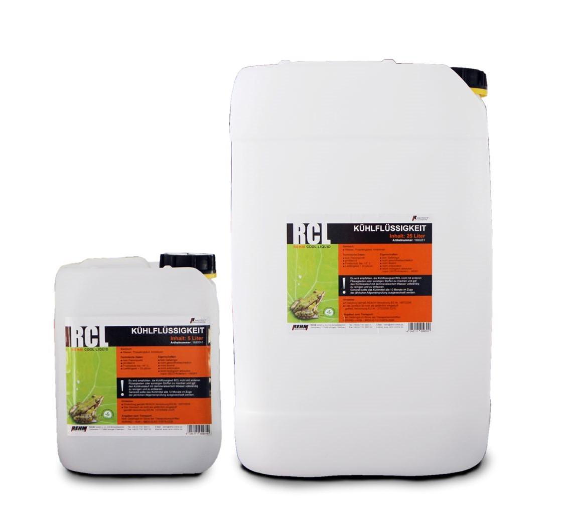 Hochleistungs-Kühlflüssigkeit von REHM Welding Technology für Schweißmaschinen