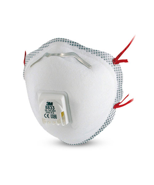 Breathing masks and breathing protection systems from 3M