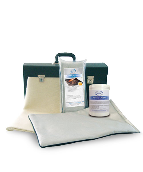 Heat protection kit with 4 parts