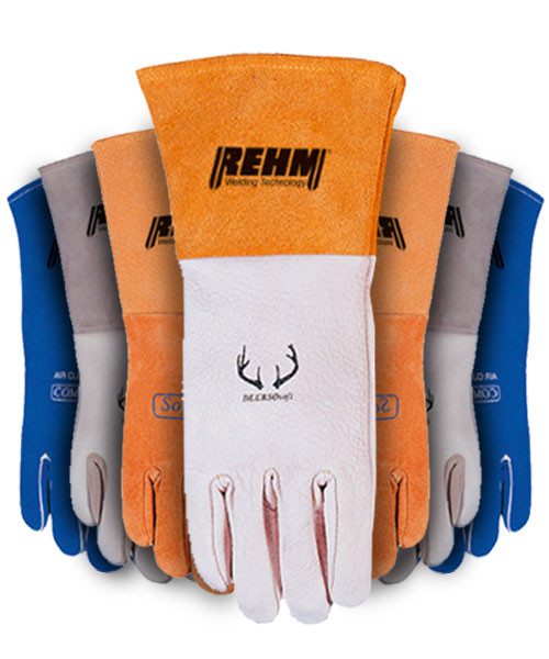Welding gloves and welding work wear by 3M